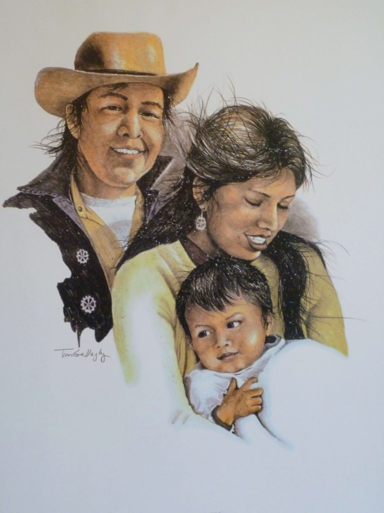"Family Time <br> SIZE H"" X W"": 24 x 18 <br> Price: $120.00"